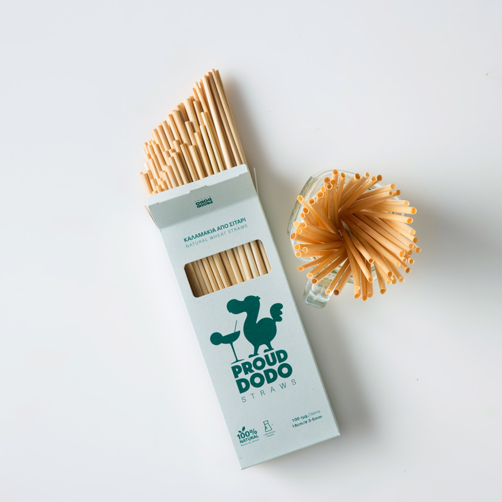 Proud Dodo Straws</br>100 Pcs / 18cm