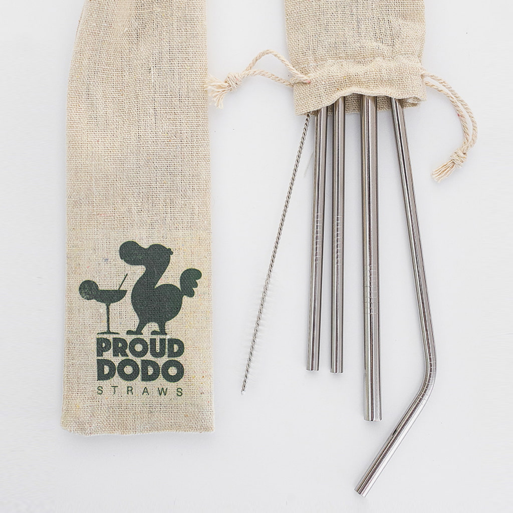 Proud Dodo<br /> Stainless Steel Straws